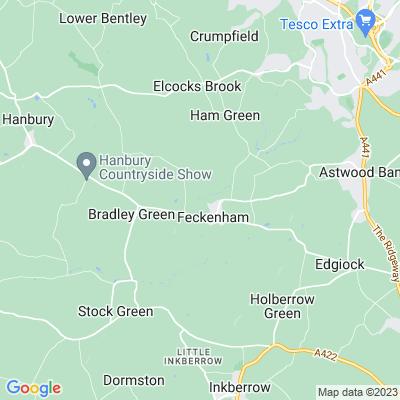 Feckenham Lodge Location