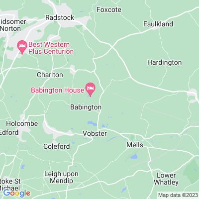 Babington House Location