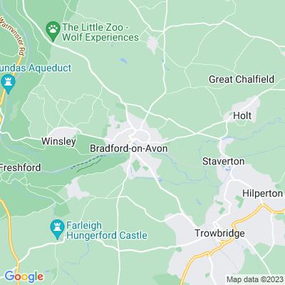 Hall, The, Bradford-on-Avon Location
