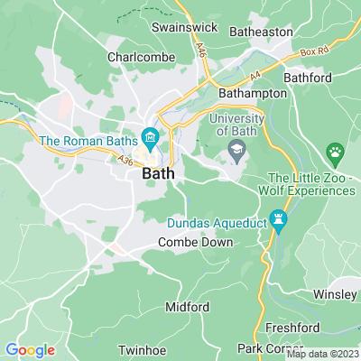 Widcombe Manor Location