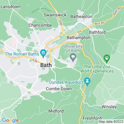 Bathwick Grange Location