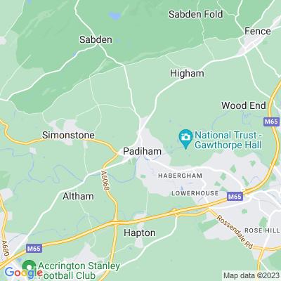 Huntroyde Demesne Location