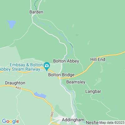 Bolton Abbey Location