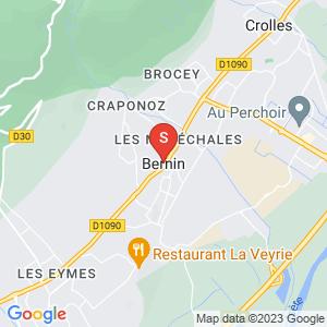 Carte Serrurier Bernin