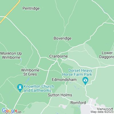 Cranborne Manor Location
