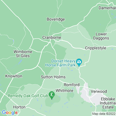 Edmondsham House Location