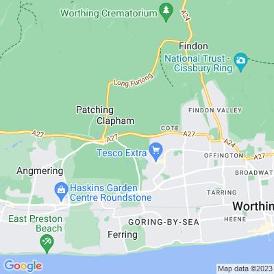 Castle Goring Location