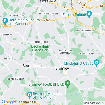 Bromley Hill Cemetery Location