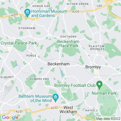 Beckenham Green Location