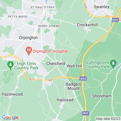 Chelsfield Park Hospital Location