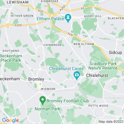 Sundridge Park Location
