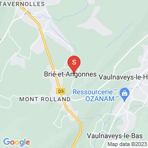 Carte Serrurier Brié-et-Angonnes