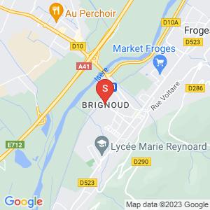 Carte Serrurier Brignoud