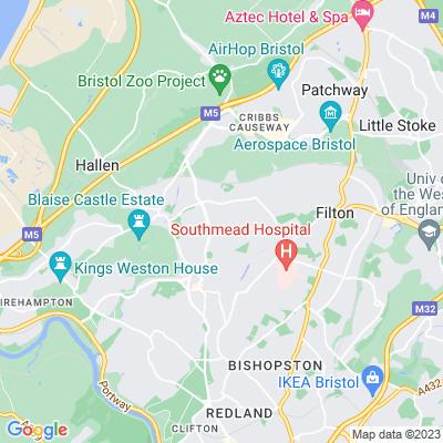 Royal Victoria Park, Bristol Location