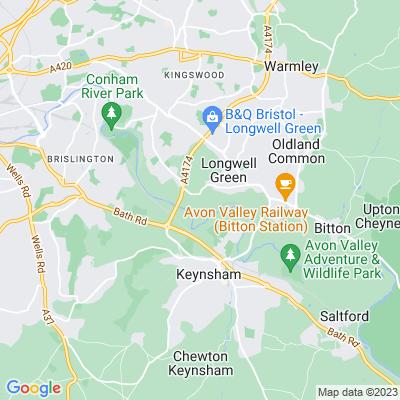 Hanham Court, Hanham Abbots Location