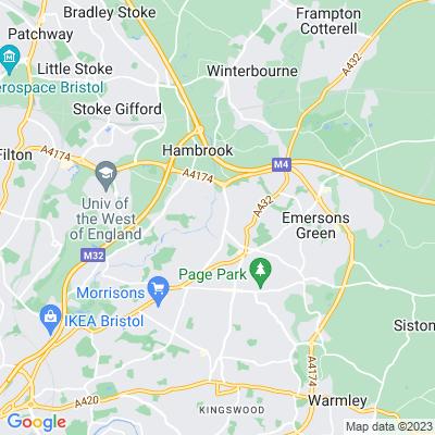 Cleeve Hill, Mangotsfield Location
