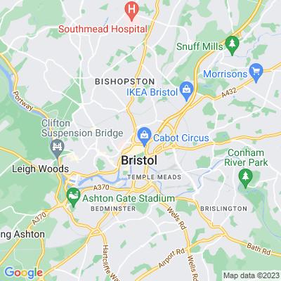 Brunswick Square, Bristol Location