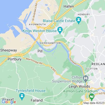 Ham Green Hospital Location