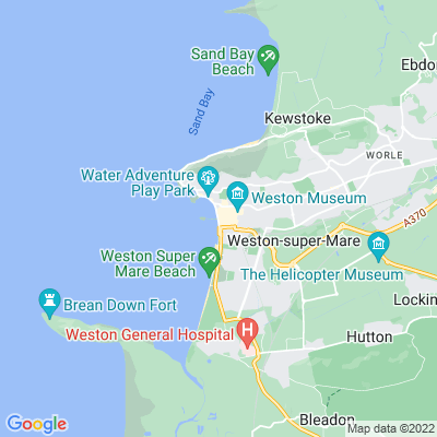 Winter Gardens, Weston-super-Mare Location