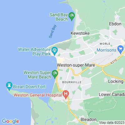 Alexandra Parade, Weston-super-Mare Location