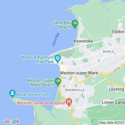 Grove Park, Weston-super-Mare Location
