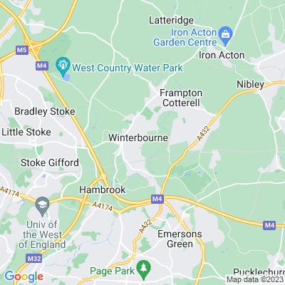 Mount, The, Winterbourne, kitchen garden Location