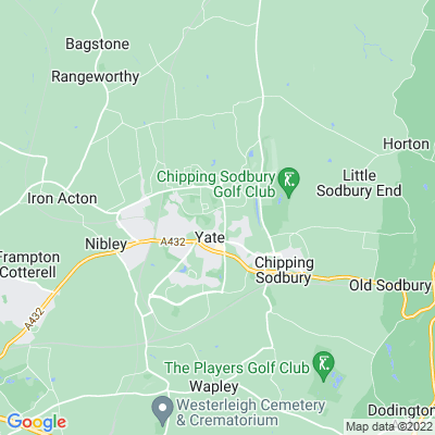 Yate Rectory Location