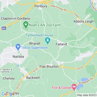 Tyntesfield Location