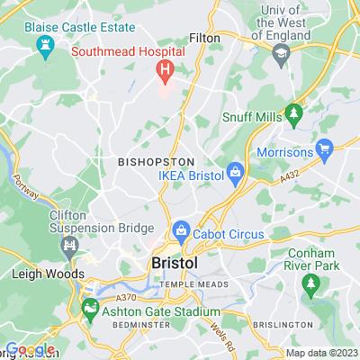 St Andrew's Park, Bristol Location