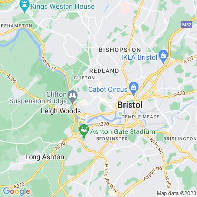 Edgecumbe Hall/Thornton Villa, Clifton, Bristol Location