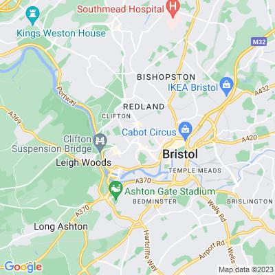 Park Place, Bristol Location