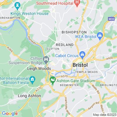 Eaton Crescent, Clifton Location