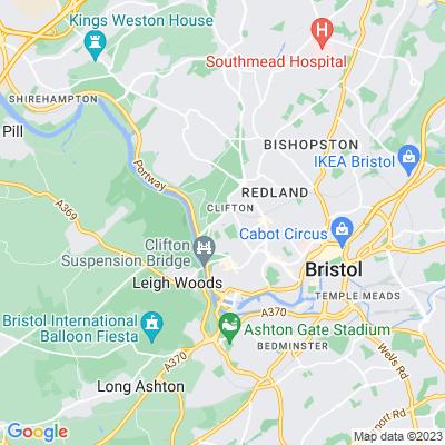 Bristol Zoological Garden, rock garden Location