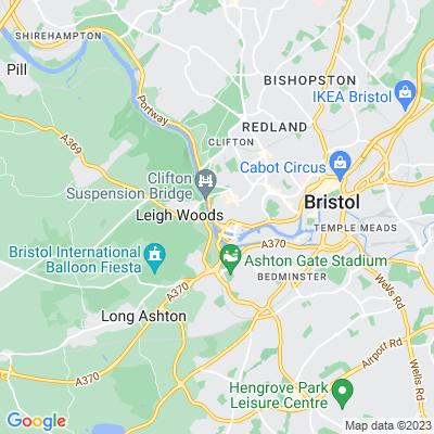 Windsor Terrace, Clifton, Bristol Location