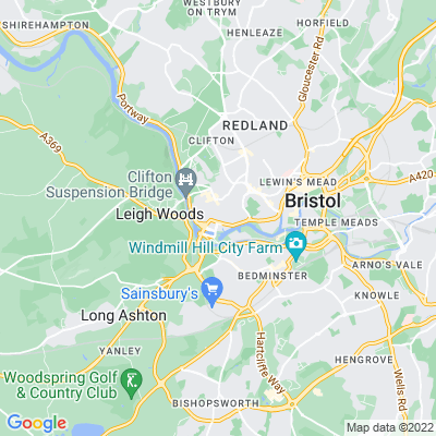 Camden Terrace, Clifton, Bristol Location
