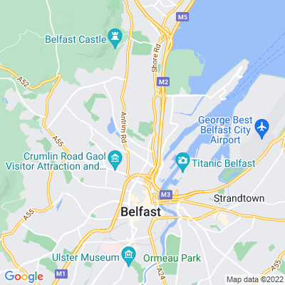Alexandra Park, Belfast Location