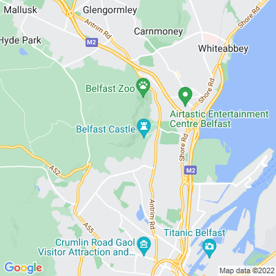 Belfast Castle Location