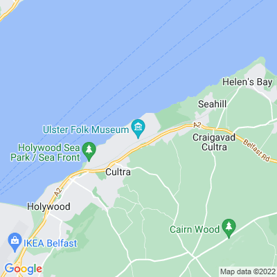 Cultra Manor Location