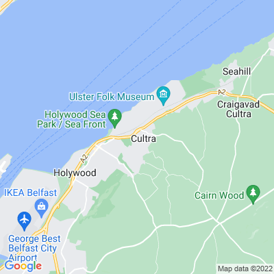 Ballymenoch House Location