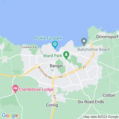 Bangor Castle Location