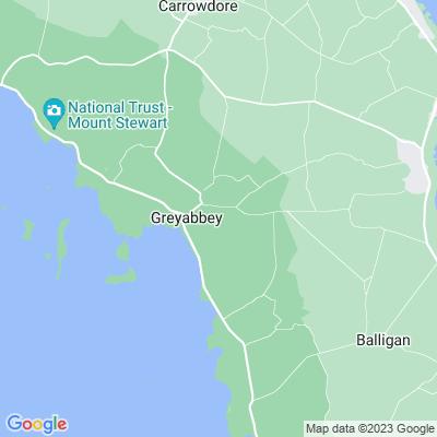 Greyabbey House Location