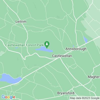 Castlewellan Forest Park Location