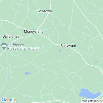 Ballyward Lodge Location