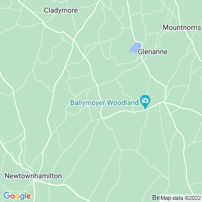 Ballymoyer House Location