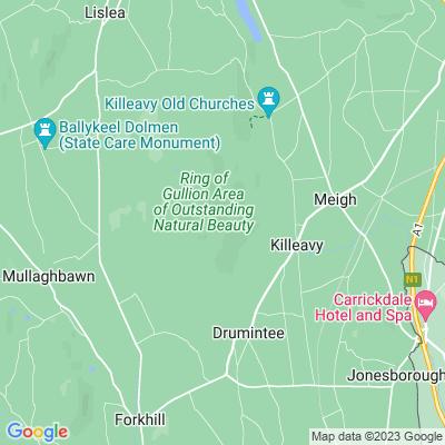 Killevy Castle Location