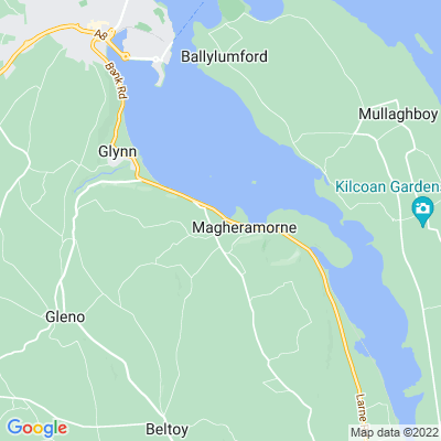 Magheramorne House Location