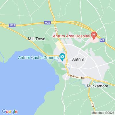 Antrim Castle Location