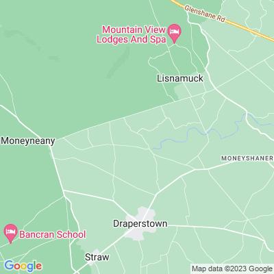 Ballynascreen Rectory Location