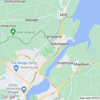Ballyarnet House Location
