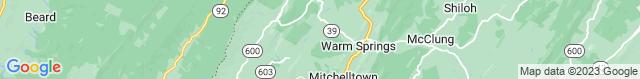 Map of VA